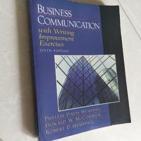 Business Communication with Writing Improvement Exercises (6th Edition)