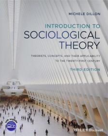 预订 Introduction to Sociological Theory: Theorists, Concepts, and their Applicability to the Twenty-First Century   英文原版 社会学理论导论