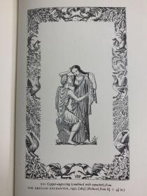 A checklist of the book illustrations of John buckland wright  莱特版画书目 带罕见原装薄膜书衣