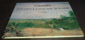 2手英文  John Constable's English Landscape Scenery 约翰康斯特布尔 sgb2