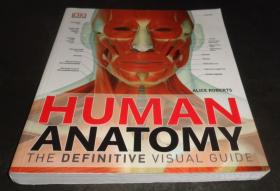 2手英文 Human Anatomy The Definitive Visual Guide 解剖 sgb3