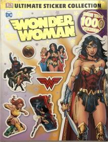 平装贴纸 Ultimate Sticker Collection: DC Comics Wonder Woman终极贴纸系列:DC漫画奇迹女郎