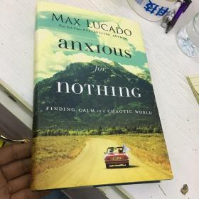 MAX LUCADO anxious for nothing