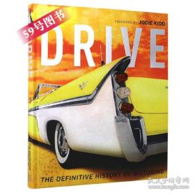 英文原版 Drive: The Definitive History of Motoring Giles Chapman DK图解汽车史百科书籍