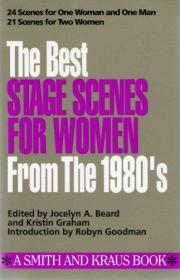 Best Stage Scenes for Women for the 1980s (Scene Study Series)-80年代女性最佳舞台场景(场景研究系列)