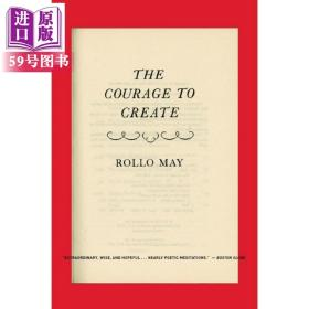 英文原版 Courage to Create Revised 心理学 精神分析 罗洛 梅 Rollo May