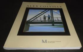 2手英文 Alex Colville: Paintings, Prints and Processes 亚历克斯科尔维尔 scb70