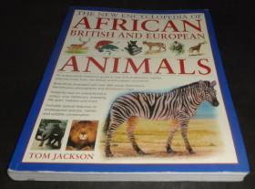 2手英文 The New Encyclopedia of African, British and European Animals 非洲英国欧洲动物百科 scb67