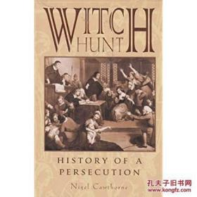 Witch Hunt History of Persecution,女巫抓捕史,精装插图,稀少