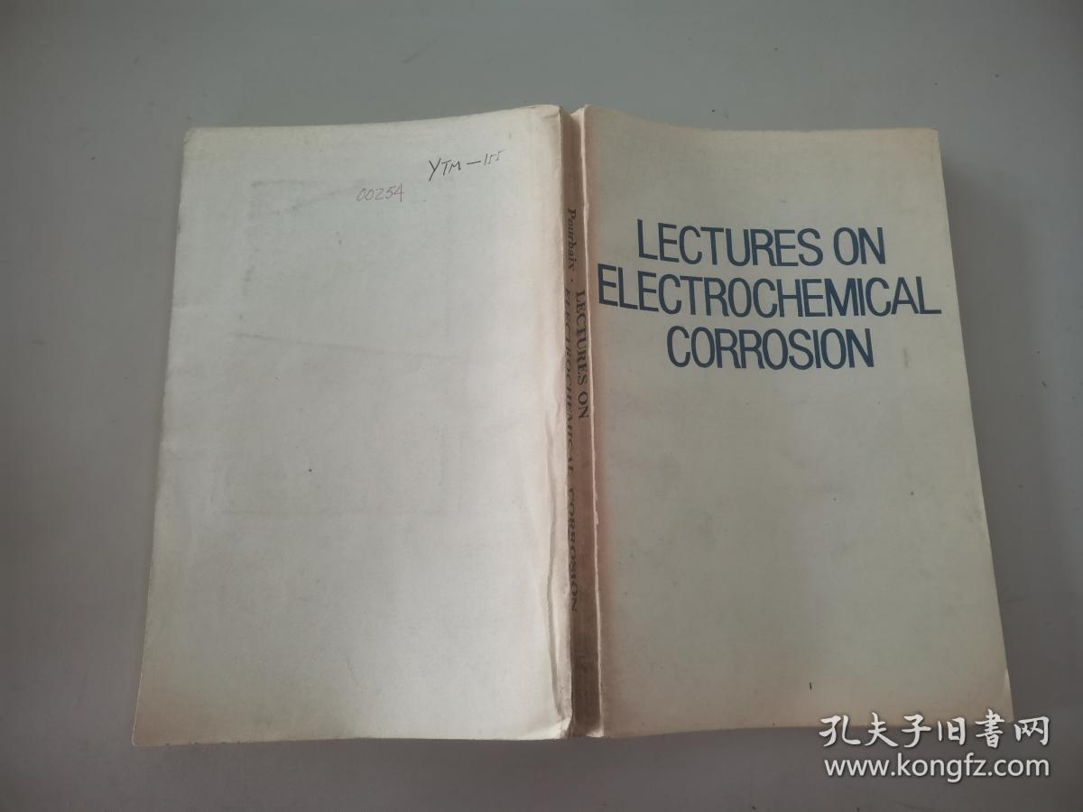 LECTURESON ELECTROCHEMICAL CORROSION