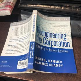 Reengineering the Corporation: A Manifesto for Business Revolution[企业再造:商业革命宣言]