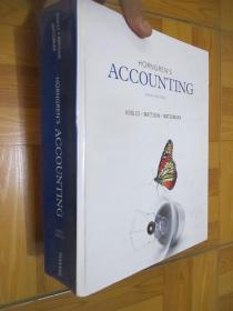 HORNGREN'S ACCOUNTING   (tenth Edition)   大16开,精装