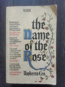 英文原版 the name of the Rose