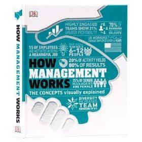 DK-How Management Works : The Concepts Visually Explained 英文原版 管理百科