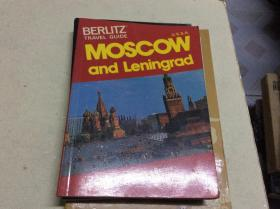 BERLITZ TRAVEL GUIDE MOSCOW AND LENINGRAD贝利兹莫斯科和列宁格勒旅游指南
