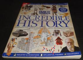 2手英文 How It Works Book of Incredible History Volume 2 Revised Edition 难以置信的历史 sdb96