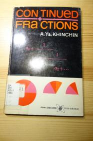 Khinchin . Continued fractions