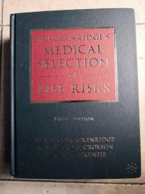 Medical Selection of Life Risks-生命危险的医学选择