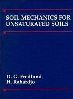 非饱和土土力学 英文原版 Soil Mechanics For Unsaturated Soils-