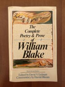 The Complete Poetry & Prose of William Blake