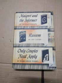 Maigret and the lnformer/Ransom/Only Couples Need Apply  (见图)