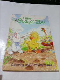 little suzy's zoo  coloring and activity book