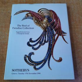 SOTHEBYS The Bird of paradise CoIIection