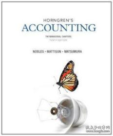 Horngren's Accounting The Managerial Chapters (10th Edition)