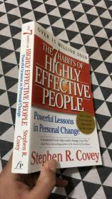The 7 Habits of Highly Effective People:Powerful Lessons in Personal Change (高效人士的7个习惯)
