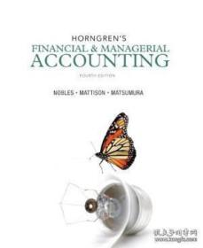 Horngren's Financial & Managerial Accounting Plus New Myaccountinglab With Pearson Etext -- Access C
