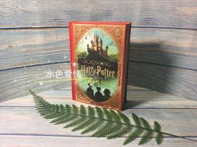 预售哈利波特与魔法石美版精装互动书 MinaLima工作室Harry Potter and the Sorcerer's Stone MinaLima Edition