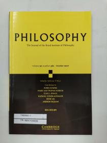 philosophy volume 92 number 362 october 2017