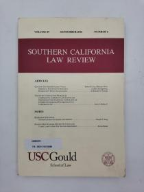 southern california law review volume 89 september 2016 number 6