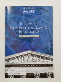 journal of competition law & economics vol 12 no 3 september 2016
