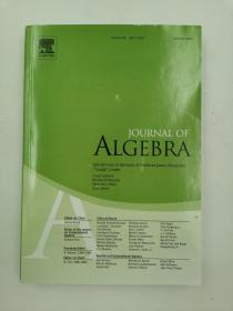 journal of algebra volume 475 april 1 2017  代数杂志第475卷2017年4月1日