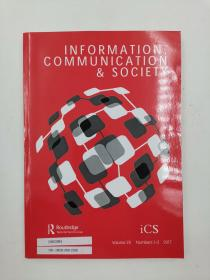 information communication & society volume 20 numbers 1-2 2017