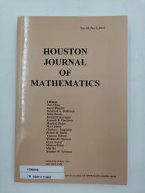 houston journal of mathematics vol.43 no.3 2017