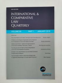 international & comparative law quarterly volume 65 part 1 january 2016