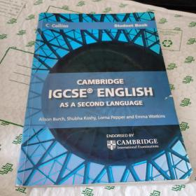 Cambridge IGCSE English as a Second Language Student Book (Collins Cambridge IGCSE)带光盘一张  内有字迹划线68