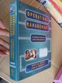 Operations management: A process Approach with spreadsheets 英文原版 大16开 厚重册