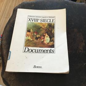 XVIII e SIECLE Documents