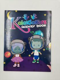 kaleidokids activity book 涂色书