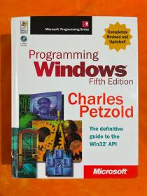 programming windows fifth edition charles petzold(16开 精装本 带光盘)
