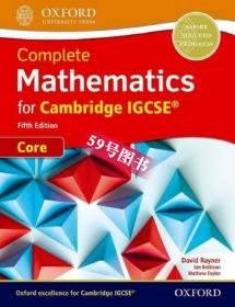 原版 Complete Mathematics for Cambridge IGCSE Student Book