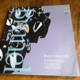 Brunel University Posrgraduste Prospectus 2003/2004