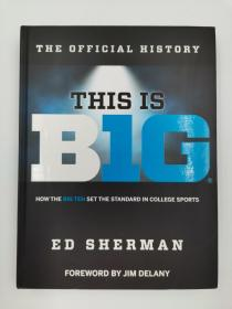 the official history this is big how the big ten set the standard in college sports