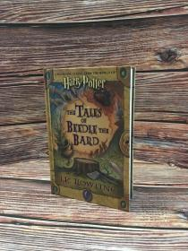 绝版老版诗翁彼豆故事集美版精装the tales of beedle the bard