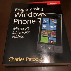 Programming Windows Phone 7 Microsoft Silverlight Edition