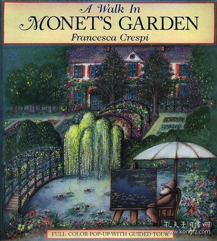 A Walk in Monet's Garden: Full Color Pop-Up With Guided Tour