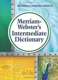 英文原版 Merriam-Webster's Intermediate Dictionary韦氏中级词典